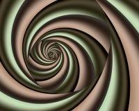 Groovy röra sig i spiral royaltyfri foto