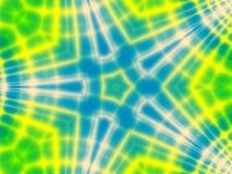 Groovy Retro- Gleichheit gefärbtes Muster stock abbildung