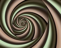 Groovy spiral royalty free stock photo