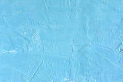Gropig spackel för abstrakt bakgrund Härlig blåttfärg, tömmer utrymme Arkivbilder
