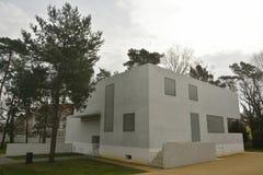 Gropiushaus in dessau-Rosslau Stock Afbeelding