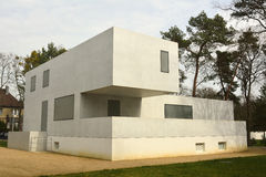 Gropiushaus in dessau-Rosslau Stock Fotografie
