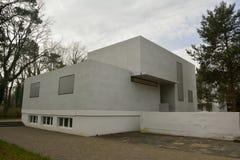Gropiushaus em Dessau-Rosslau Fotos de Stock Royalty Free