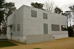 Gropiushaus em Dessau-Rosslau Imagens de Stock Royalty Free