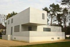 Gropiushaus em Dessau-Rosslau Fotografia de Stock