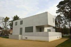 Gropiushaus em Dessau-Rosslau Fotografia de Stock Royalty Free