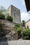 Gropparello Castle. Emilia-Romagna. Italy. Royalty Free Stock Images