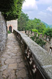 Gropparello slott Emilia-Romagna italy arkivbilder
