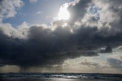 Groppo sopra il mare Fotografia Stock