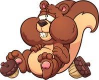 gros écureuil illustration libre de droits
