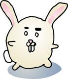 Gros dessin animé de lapin Photographie stock libre de droits