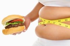 Gros estomac Image stock