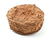 Gros gâteau réduit photographie stock libre de droits
