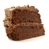 Gros gâteau réduit image libre de droits