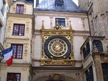 Gros Horloge di Rouen Normandia, Francia Fotografia Stock