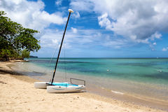 Gros Islet Beach, Saint Lucia Stock Images