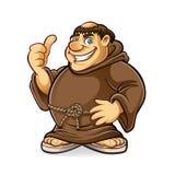 Gros moine Photo libre de droits