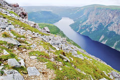 Gros Morne Photographie stock