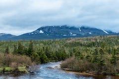 Gros Morne Mountain, Gros Morne National Park, Newfoundland, Can. Ada royalty free stock photo
