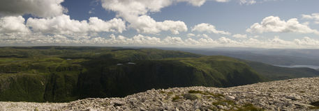 Gros Morne Mountain Trail Stockfotos