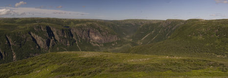 Gros Morne Mountain Trail Royaltyfri Fotografi
