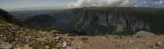 Gros Morne Mountain Trail Stock Photos