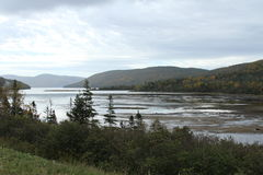 Gros Morne national park, Canada. View of Gros Morne National park Royalty Free Stock Photo
