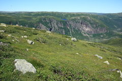Gros Morne National Park Landscape Royalty Free Stock Photos