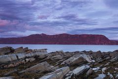 Gros Morne National Park in Neufundland Stockbild