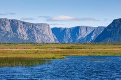 Gros Morne parka narodowego wodołaz Kanada Fotografia Royalty Free