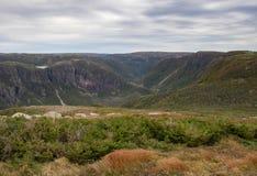 Gros Morne szczyt górski fotografia stock