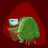 Gros troll d'Internet Photos stock
