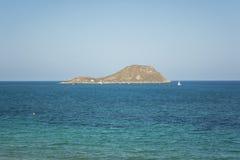 Grosa Island, Murcia, Spain. Grosa Island - La Manga del Mar Menor, Cabo de Palos, Cartagena and San Javier, Murcia, Spain, Europe Royalty Free Stock Photo