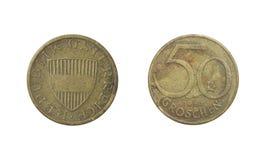 50 groschen jaar 1963 stock afbeelding