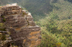 Grose Valley in Blue Mountains Australia Royalty Free Stock Images