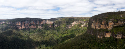 Grose Valley in Blue Mountains Australia Stock Photos