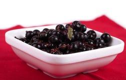 Grosella negra fresca Foto de archivo