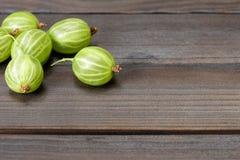 Grosellas espinosas frescas Fotos de archivo