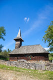 Grosii Noi Wooden Church stock photography