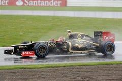 Grosjean romano, loto F1 Fotografia Stock