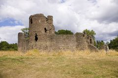 grosmont замока стоковая фотография rf