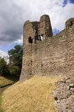 Grosmont castle. View of the south west tower and wall at Grosmont castle soth Wales Stock Images