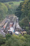 Grosmont Station, North York Moors Railway Stock Image