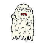 Gross comic cartoon ghost Royalty Free Stock Images