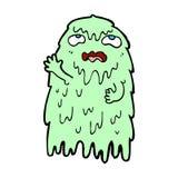 Gross comic cartoon ghost Royalty Free Stock Photography