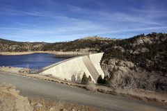 Gross Dam Colorado Royalty Free Stock Photography