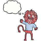 Gross monster cartoon Royalty Free Stock Photos