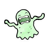 Gross slimy ghost cartoon Stock Photo