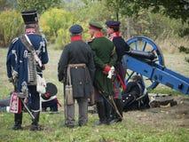 Grossbeeren-2012-Kanone-blau Lizenzfreie Stockfotos