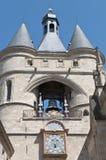 grosse Франции двери cloche Бордо Стоковое фото RF